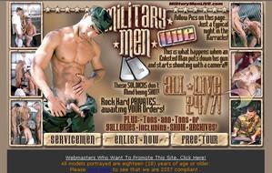 Visit Military Men Live