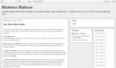 Visit Mistress Matisse`s Journal