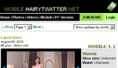 Visit Mobile Hairy Twatter
