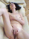 Eva masturbating and cocksucing