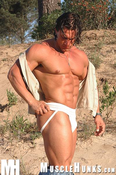 Muscle Hunks / Daniel Morocco