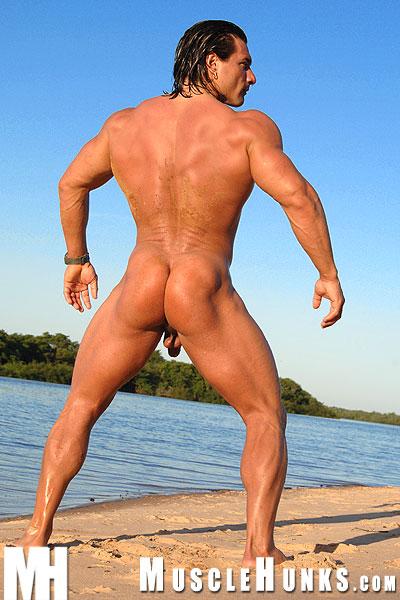 Muscle Men Naked Outside