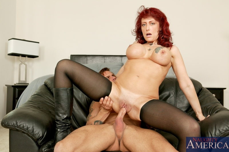 Horny redhead housewives fucking