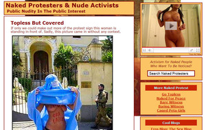 Visit Naked Protesters