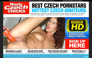 Visit Nasty Czech Chicks
