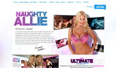 Visit Naughty Allie