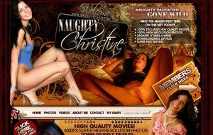 Visit Naughty Christine