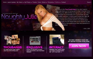 Visit Naughty Julie