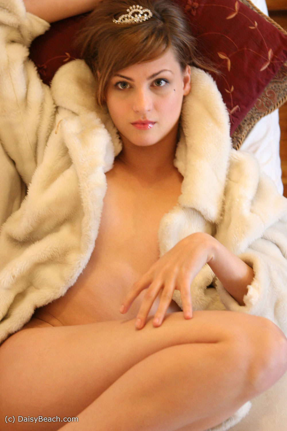 Goddess. One nude in coat tits wrong with