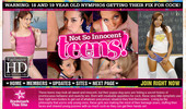 Visit Not So Innocent Teens