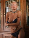 Glamorous pictures of wonderful blonde babe Dasha posing in her bare skin