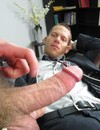 Office man gets his ass filed with pretty thick cock of his hot co-worker