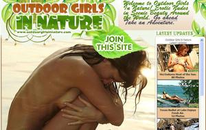 Visit Outdoor Girls In Nature