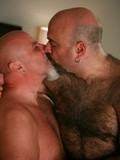 Chubby mature gay men suck each other and drill each others cock-hungry asses