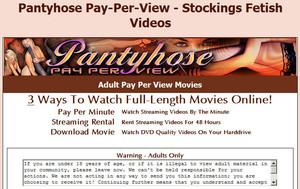 Visit Pantyhose Pay Per View