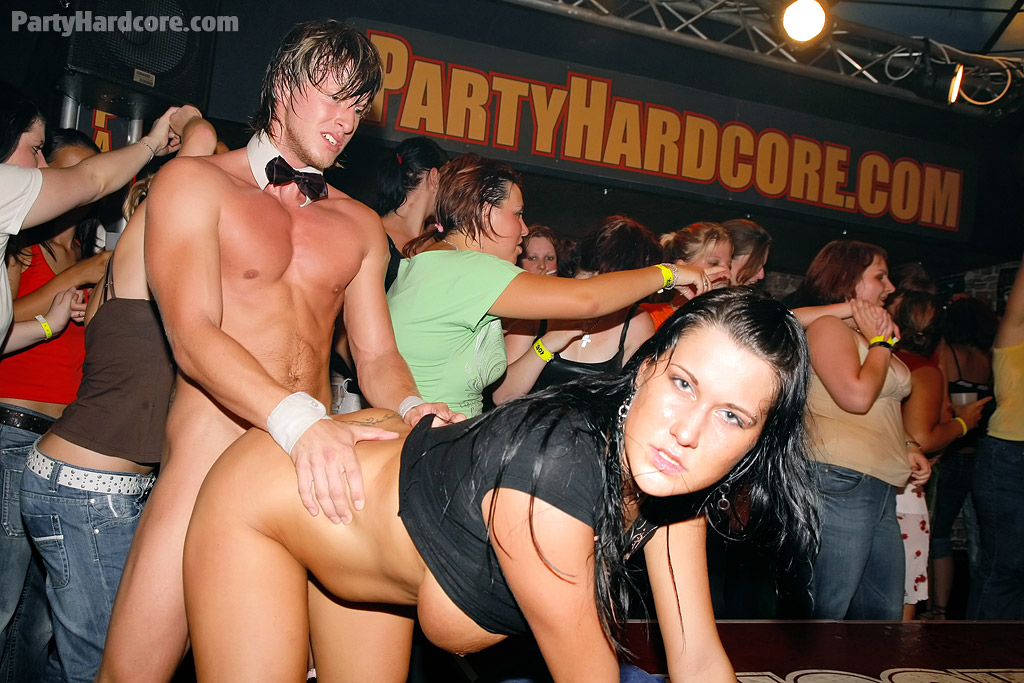Crazy party girls slut