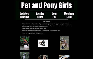Visit Pet And Pony Girls