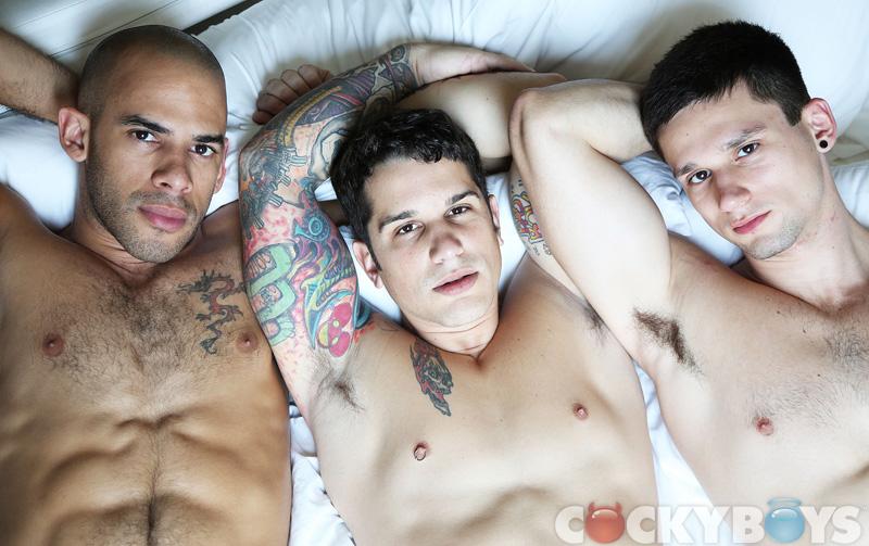 Gay Boyfriend Threesome