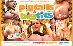 Visit Pigtails Big Tits