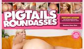 Visit Pigtails Round Asses
