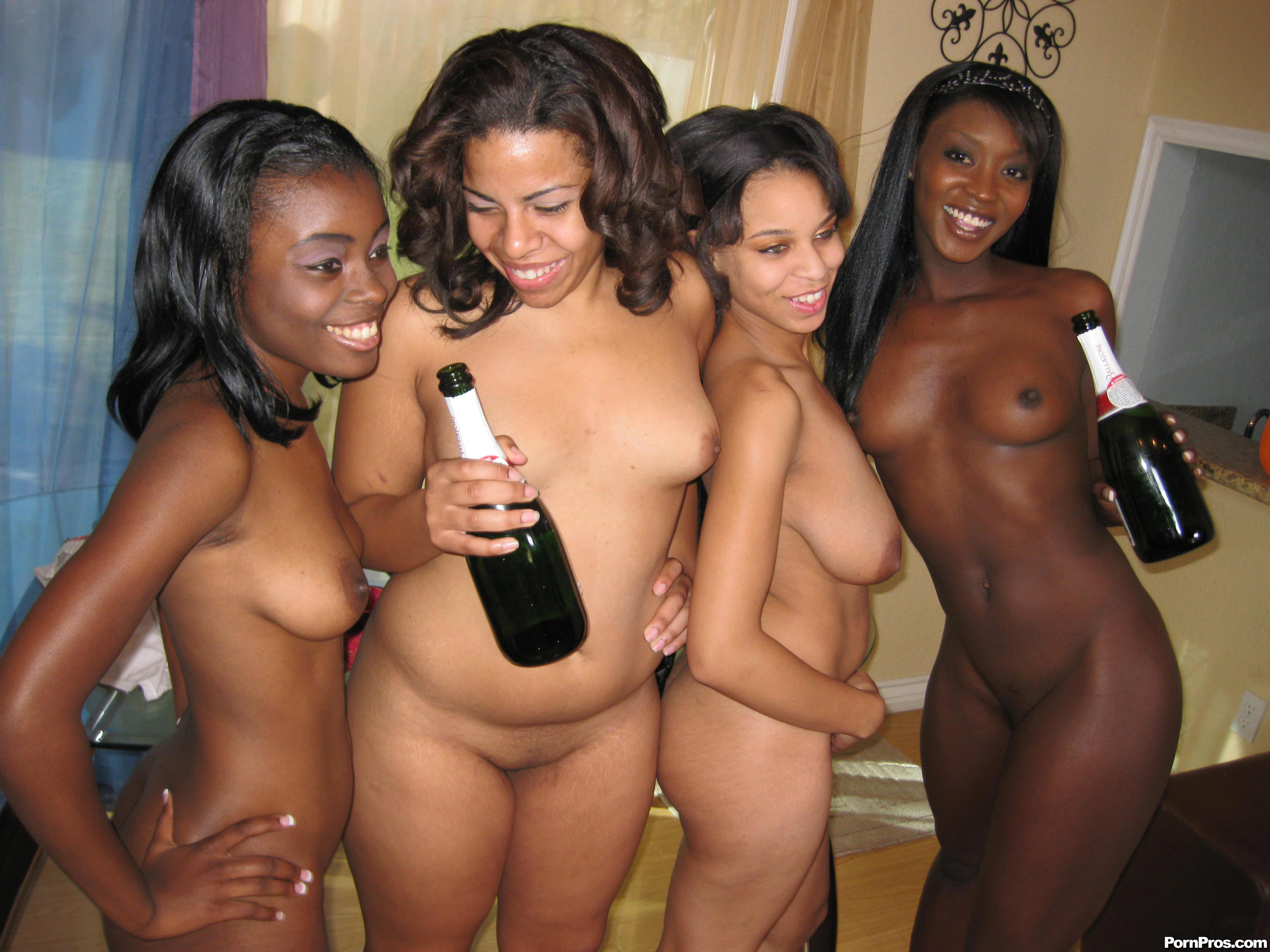 Real horny party nude