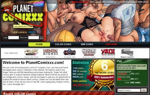 Visit Planet ComiXXX