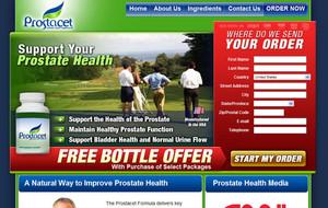 Visit Prostacet (Prostate Health Supplement)