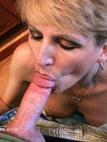 Experienced woman gets cum right in her face after good point-of-view blowjob