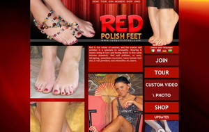 Visit Red Polish Feet