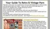 Visit Guide 2 Vintage Porn