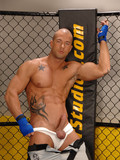 Smoking hot muscle man Rod Daily poses in jocks and completely naked exposing it