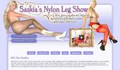 Visit Saskia`s Nylon Leg Show