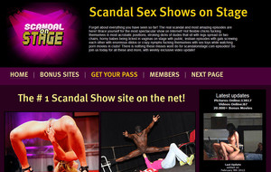 Visit Scandal On Stage