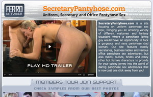 Visit Secretary Pantyhose