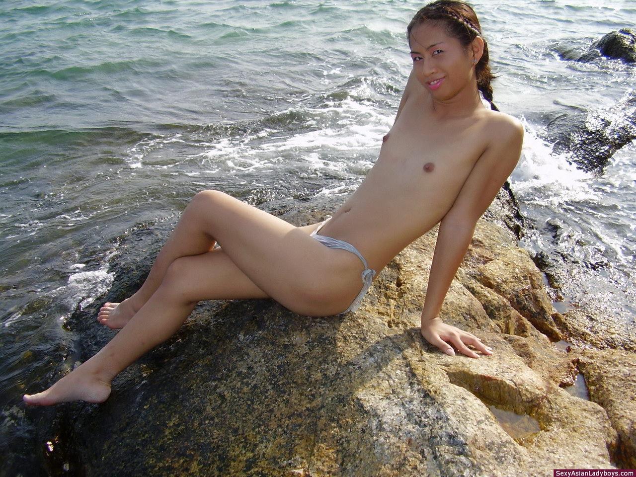 ladyboy bikini beach