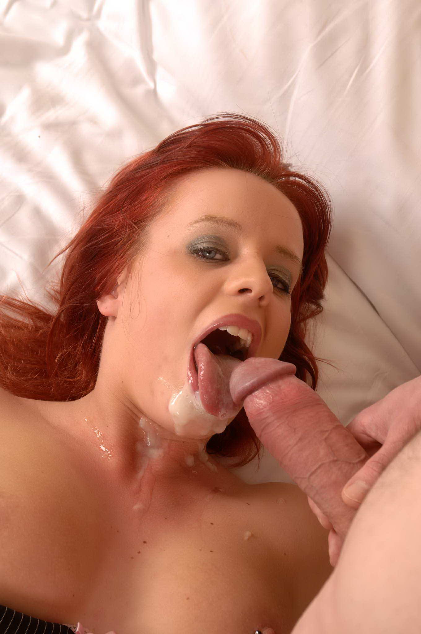 That's redhead pornstars fucking Nicole perfect