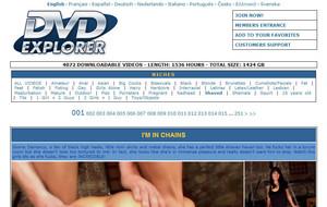Visit Shaved DVD Explorer