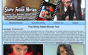 Visit Shiny Fetish Movies
