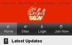 Visit Sinful BBW Mobile