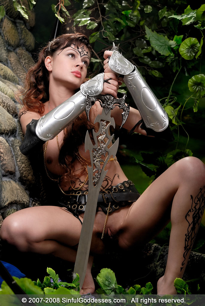 warrior Erotic porn female
