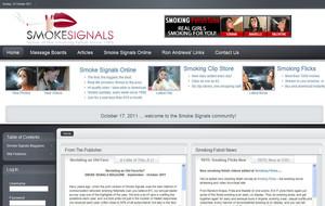 Visit Smoke Signals Online