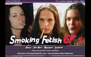 Visit Smoking Fetish GFs