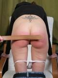 Insane schoolgirls spank and slap each other's booties making the skin burn