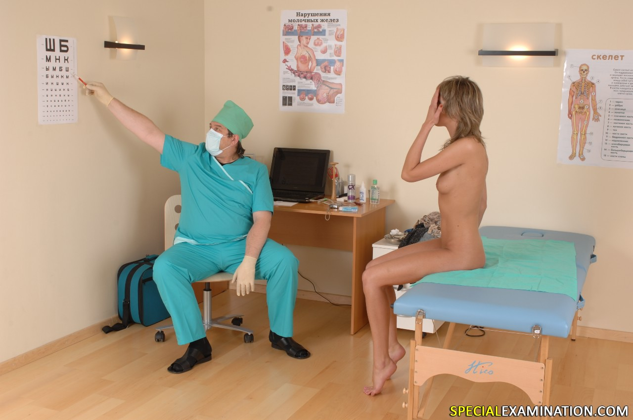 Doctor Checking Girls Nude