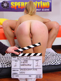 Blue eyed teen blonde feels no shame getting her mouth and ass banged at casting