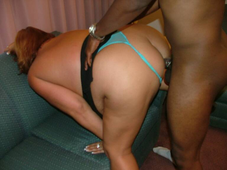 Bbw black mama gets teamed by a latino and a black guy - 1 part 8