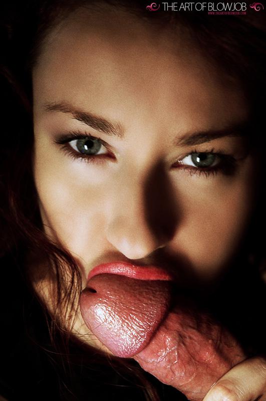 closeup blowjob -