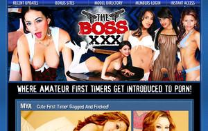 Visit The Boss XXX