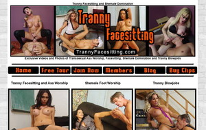 Visit Tranny Facesitting