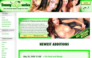 Visit Tranny Movie Series